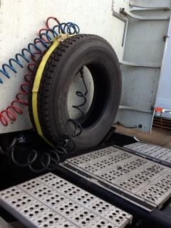 Semi Truck Spare Tire Carrier Solution From Fps Industries