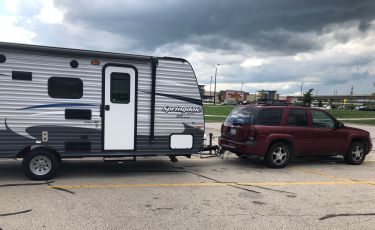 Why Semi-Trailers are easier to back up than RVs